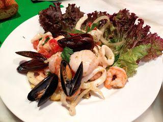 C H E W I N G T H E F A T: Ina Garten's Italian Seafood Salad