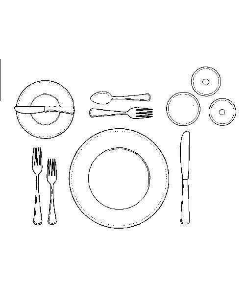 how to set a formal dinner table dinner fork formal. Black Bedroom Furniture Sets. Home Design Ideas