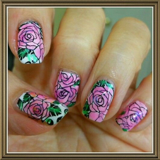 Pueen encore (With images) | Nail stamping, Nail designs ...