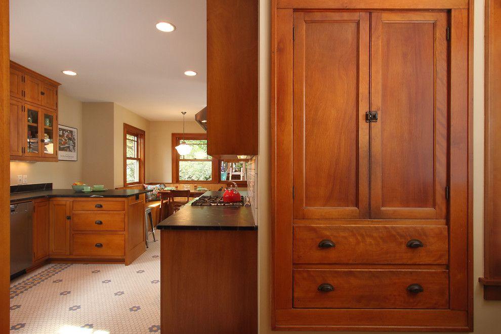 Minneapolis Bungalow - traditional - kitchen - minneapolis - w.b. ...