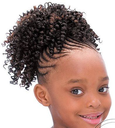 25 Stunning Black Girl Hairstyles Hairstylehub Girls Updos