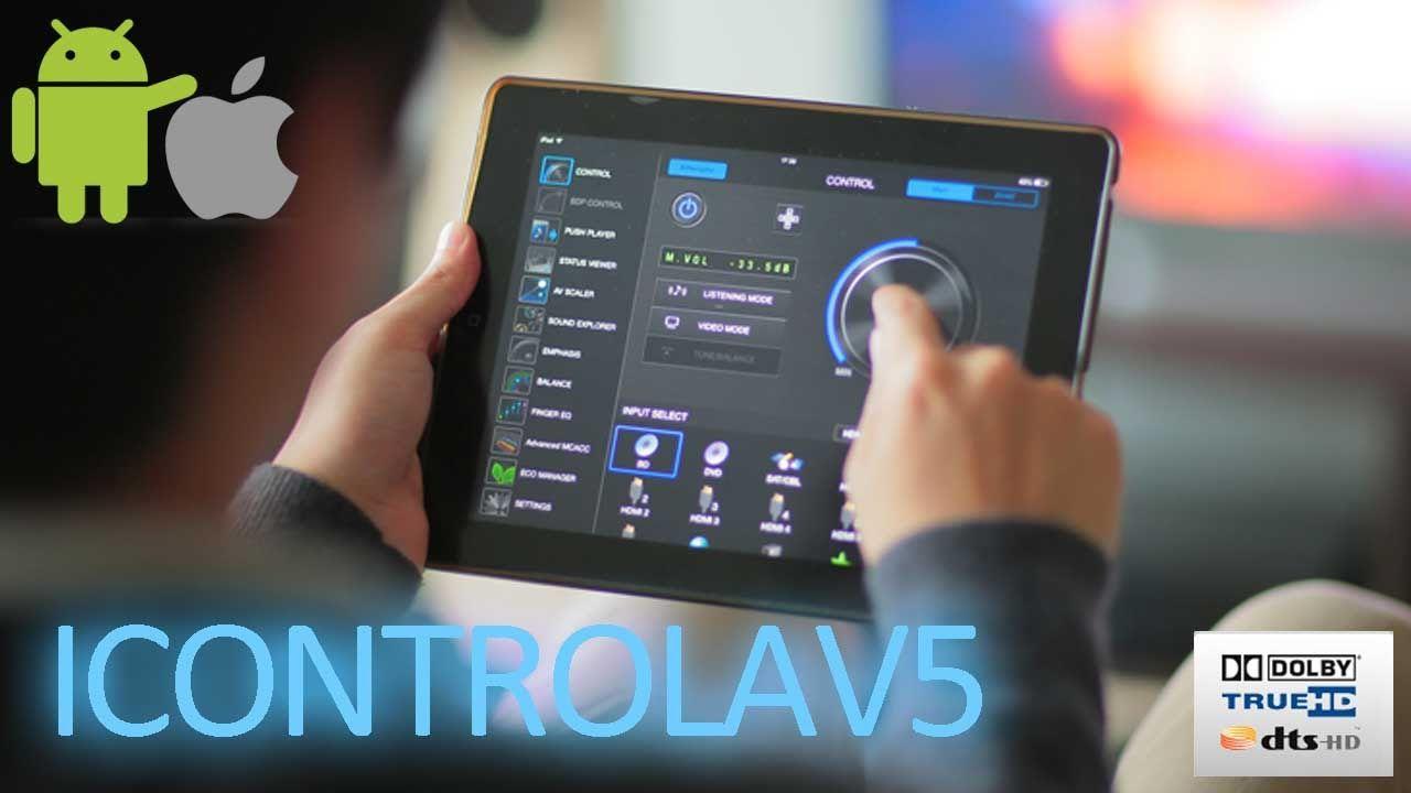 אפליקציה לרסיבר פיוניר iControlAV5 - קולנוע ביתי בקצות האצבעות