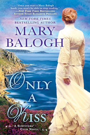Only a Kiss : The sixth book in Mary Balogh's Survivors' Club series follows Imogen, a woman still reeling from witnessing the death of her husband during the Napoleonic Wars. She's taken herself to Hardford Hall, a home that technically no longer belongs to her. But when the new owner, Percival Hayes, arrives, they're both surprised at the attraction they feel. A sweet tale of healing, this is the perfect read for the end of the season.