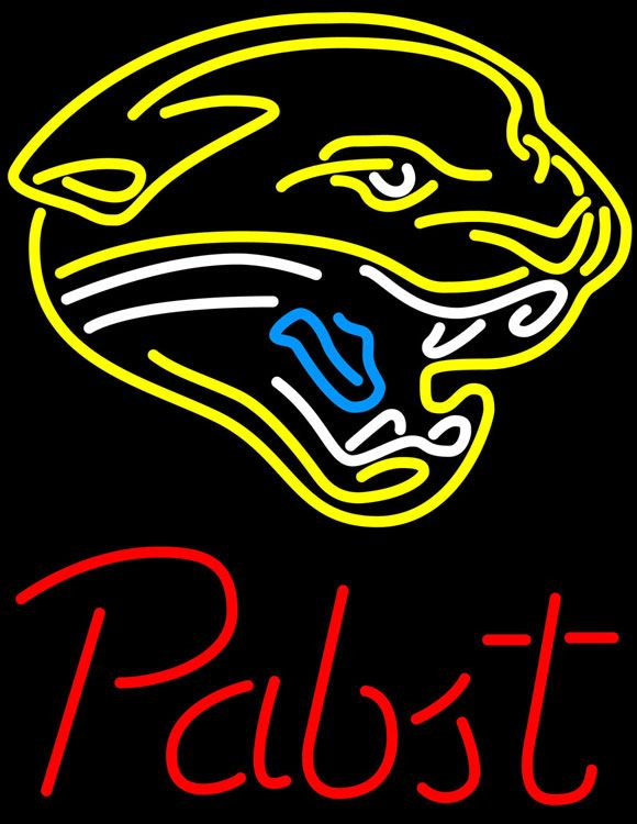 Pabst Jacksonville Jaguars NFL Beer Neon Sign, Pabst with NFL Neon Signs | Beer with Sports Signs. Makes a great gift. High impact, eye catching, real glass tube neon sign. In stock. Ships in 5 days or less. Brand New Indoor Neon Sign. Neon Tube thickness is 9MM. All Neon Signs have 1 year warranty and 0% breakage guarantee.