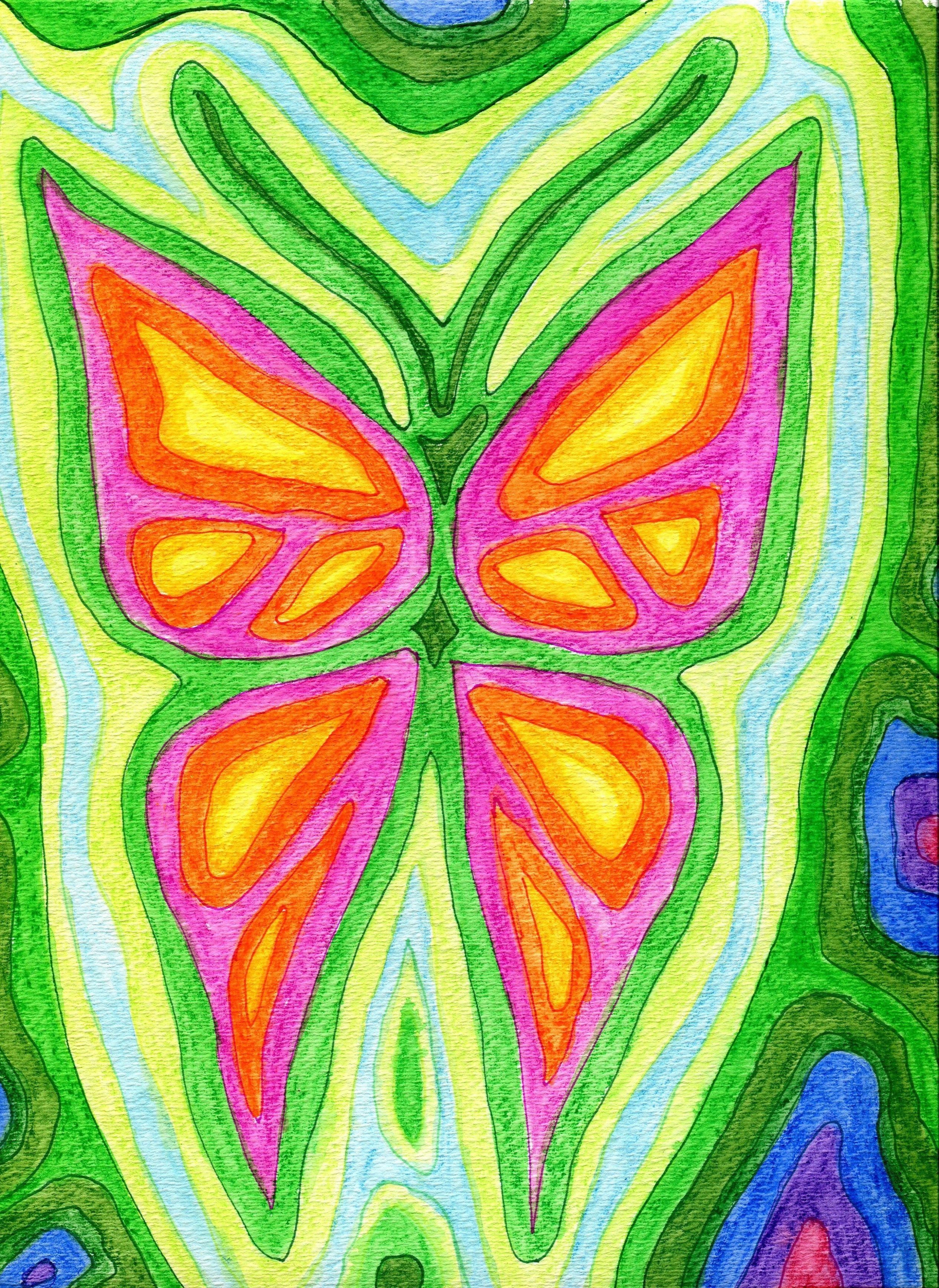 Watercolor Crayon