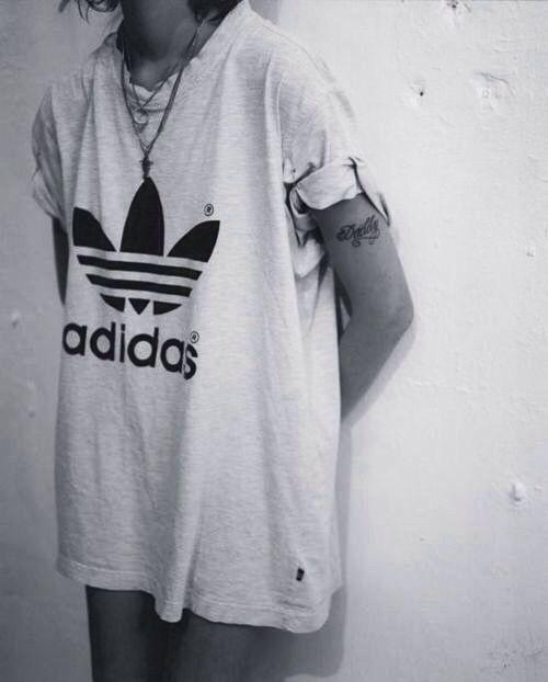 adidas originals old school t shirt