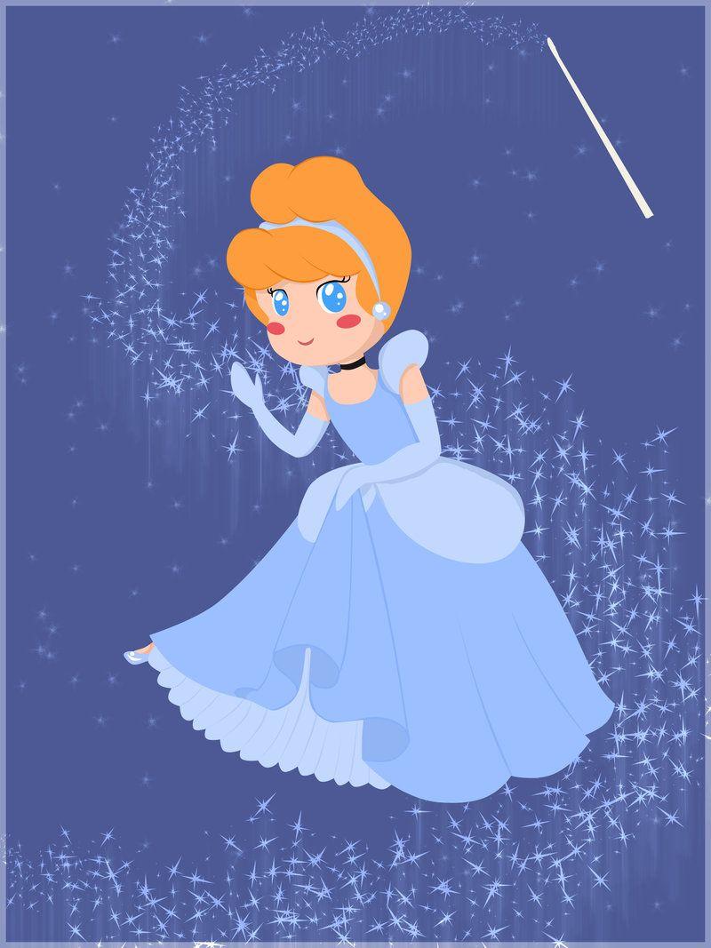 :Cinderella+Chibi:+by+artistic-minds.deviantart.com+on+@deviantART