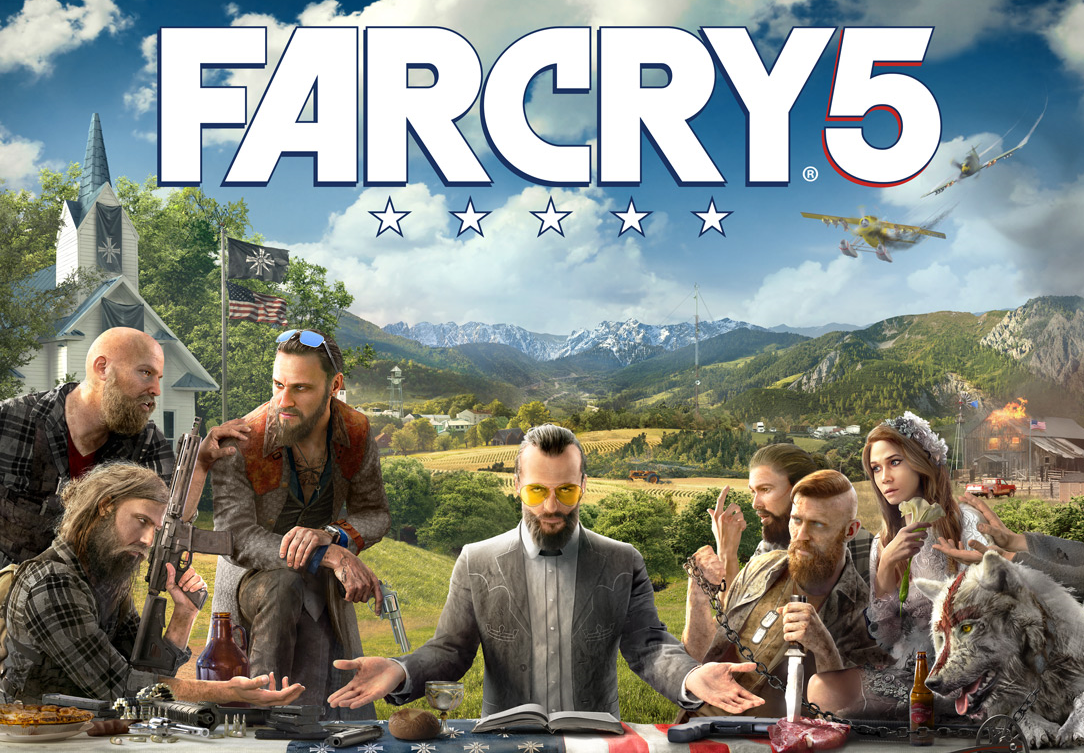 Far Cry 5 Logo Png Wallpapers Hd Resolution Is 4k Wallpaper Far Cry 5 Ps4 Far Cry 5 Game Far Cry 5