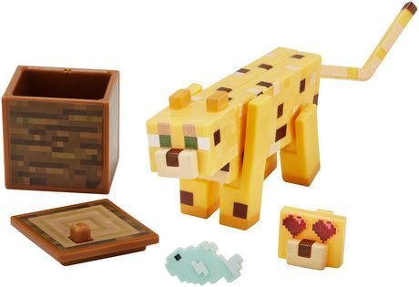 Minecraft Comic Maker Ocelot Action Figure in 2019 | Products