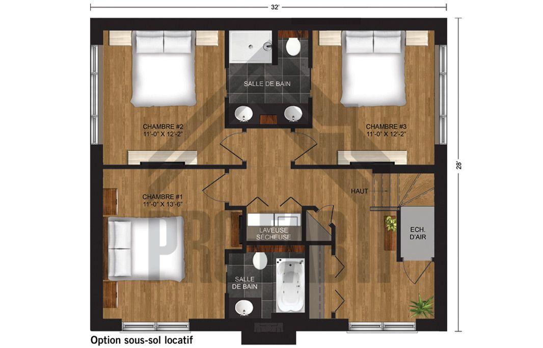 Pro fab constructeur de maisons modulaires usin es pr fabriqu es mod le horizon futur for Maison modele profab