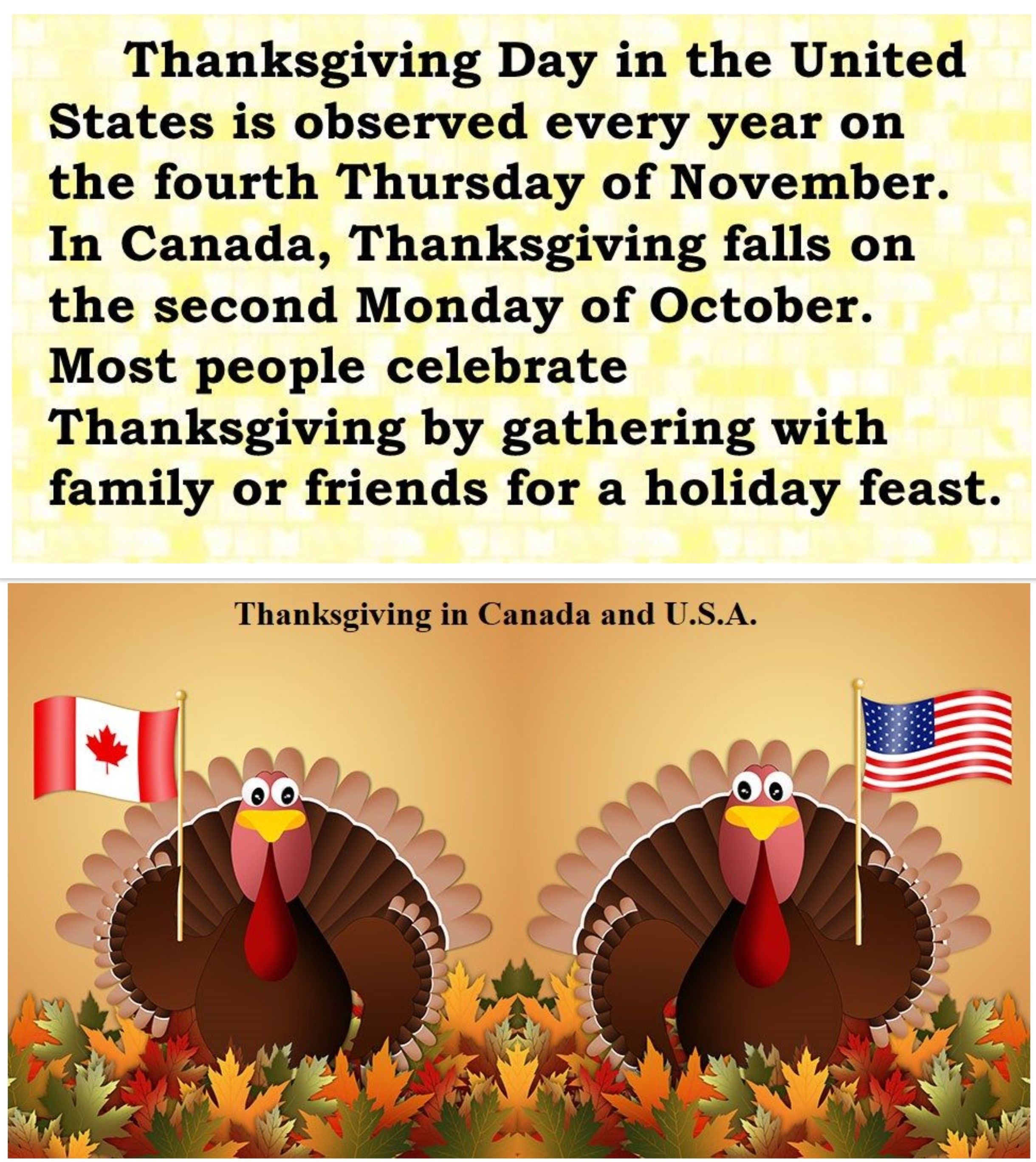 Thanksgiving In The U S A And Canada In 2020 Holiday Feast Thanksgiving Day Thanksgiving In Canada