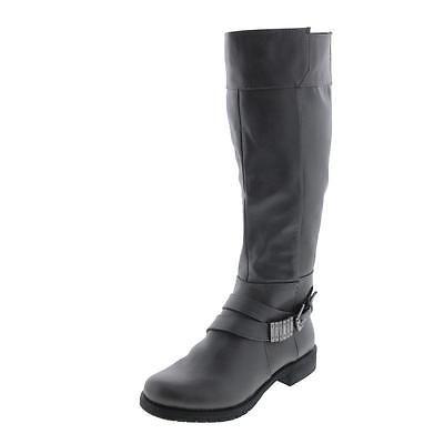 #Shoes #Apparel LifeStride 0276 Womens Maximize Gray Riding Boots Shoes 5 Medium (B,M) BHFO #Christmas #Gifts