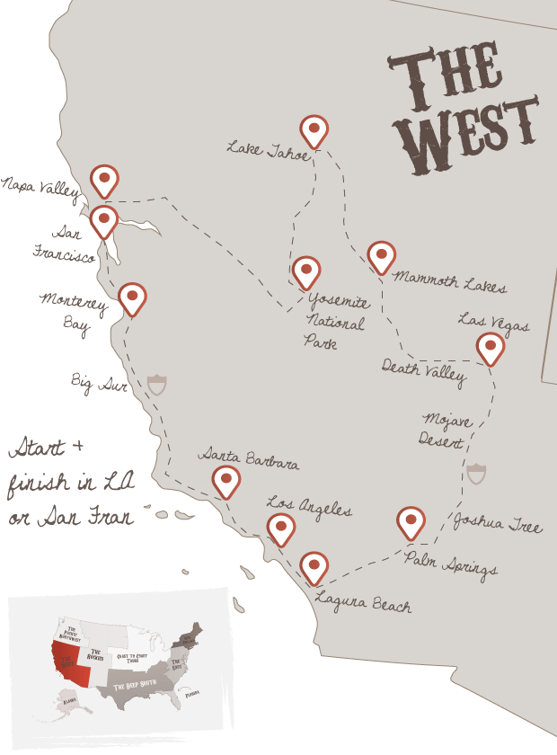 Best Of The West | to do list... | Road trip usa, Road trip map ...
