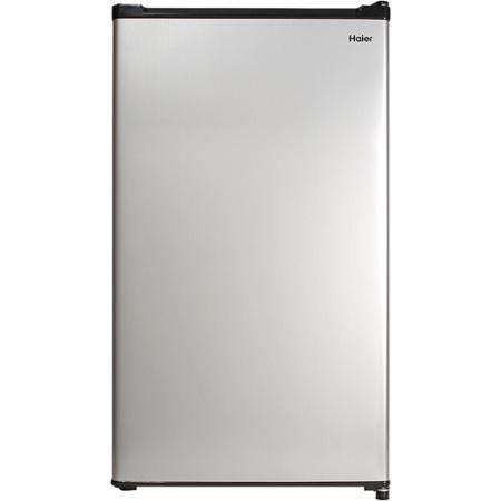 Haier 2 7 Cu Ft Single Door Compact Refrigerator Hc27sw20rv Steel Walmart Com Compact Refrigerator Compact Fridge Compact Refrigerator Freezer