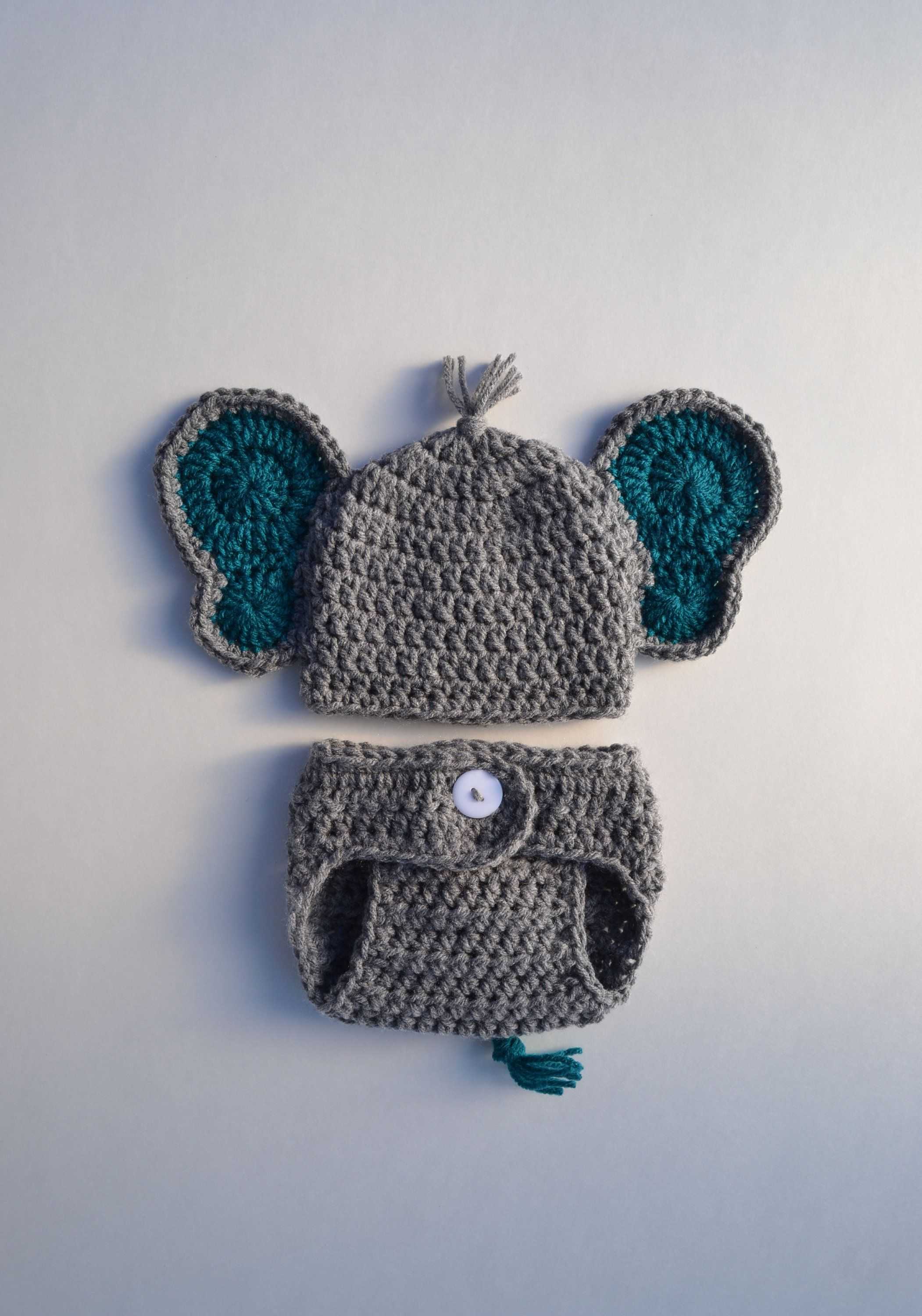 Photo of Crochet Baby Elephant Outfit Newborn Baby Elephant Outfit Baby Boy Crochet Elephant Hat Photo Prop Newborn Boy Photo Outfit Baby Shower Gift