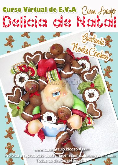 Guirlanda de Natal Caren Araujo
