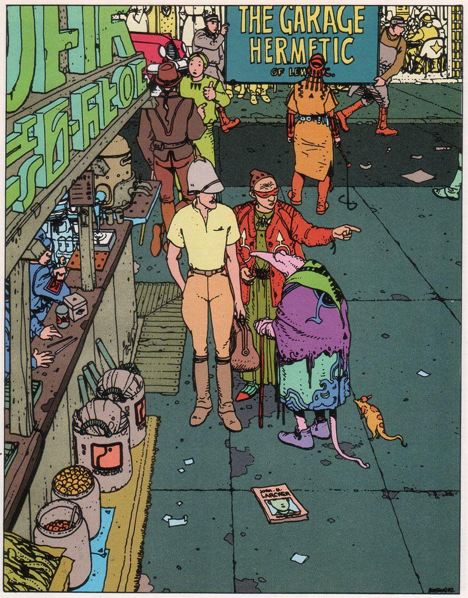 Moebius: The Airtight Garage