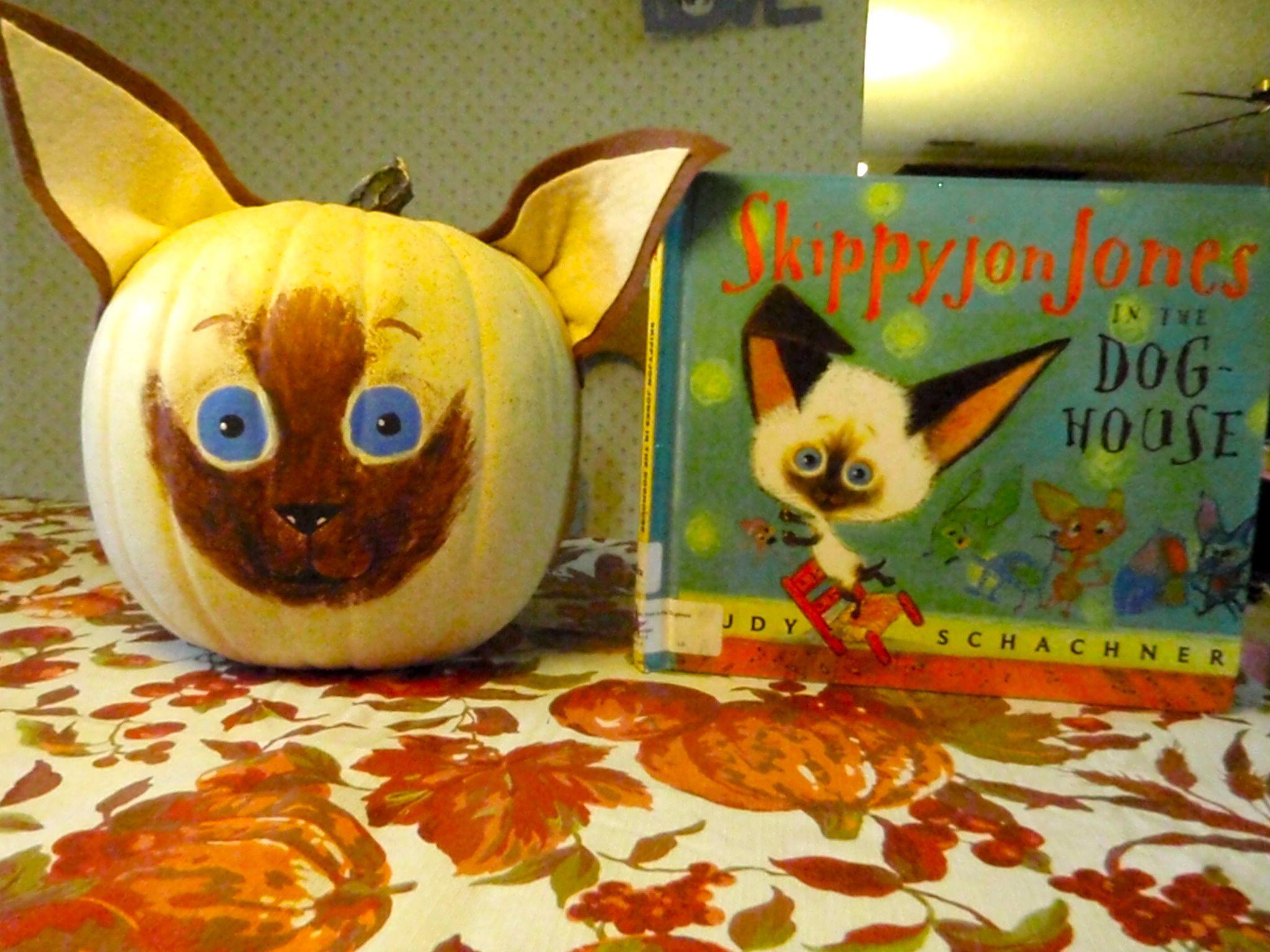 Skippyjon Jones Painted Pumpkin Halloween Kids Halloween