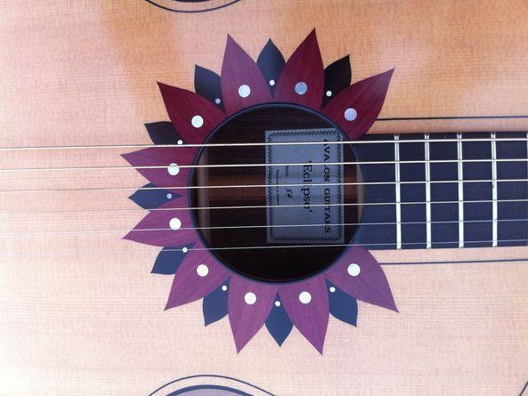 Pin On Guitar Rosette