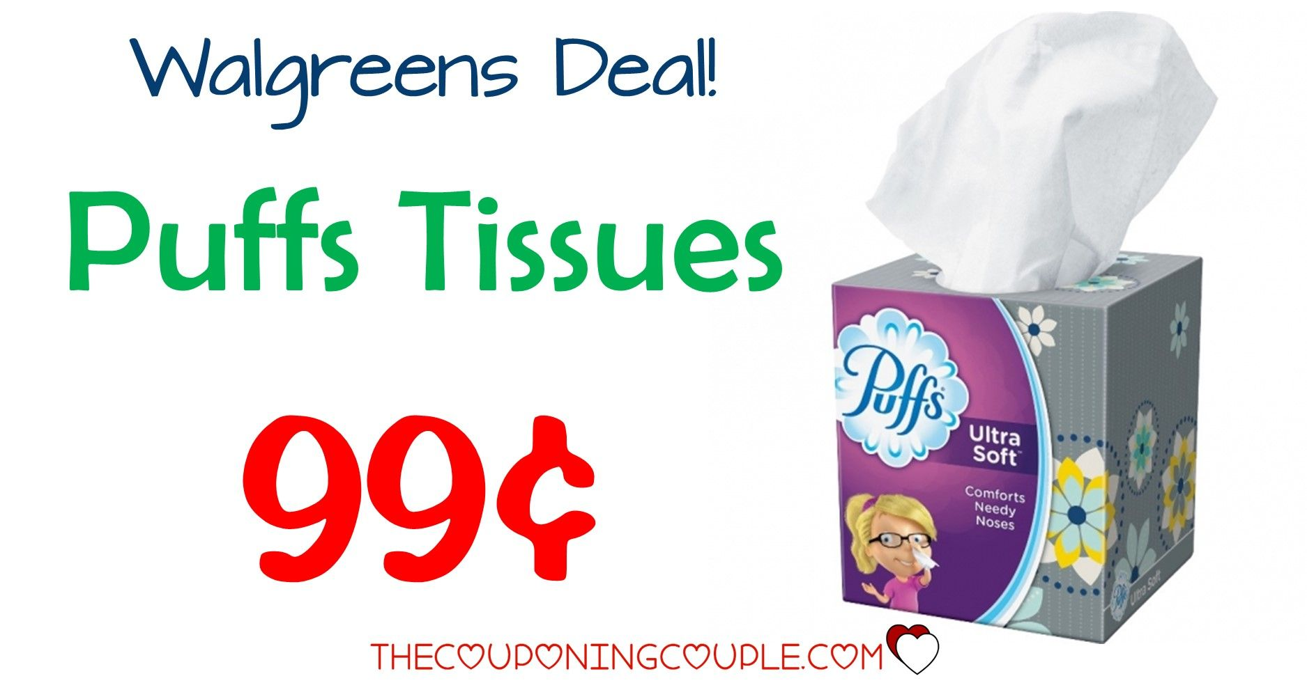 Puffs Facial Tissues Walgreens For 0 99 Facial Tissues Walgreens Puffs Tissue