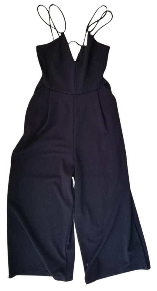 b36e85e822da Zara Navy Cut Out Spaghetti Strap Jumpsuit Size M  fashion  clothing  shoes   accessories  womensclothing  jumpsuitsrompers (ebay link)