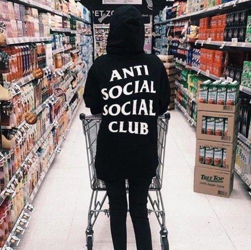 Oh Well Anti Social Social Club Hoodie Anti Social Social Club Anti Social