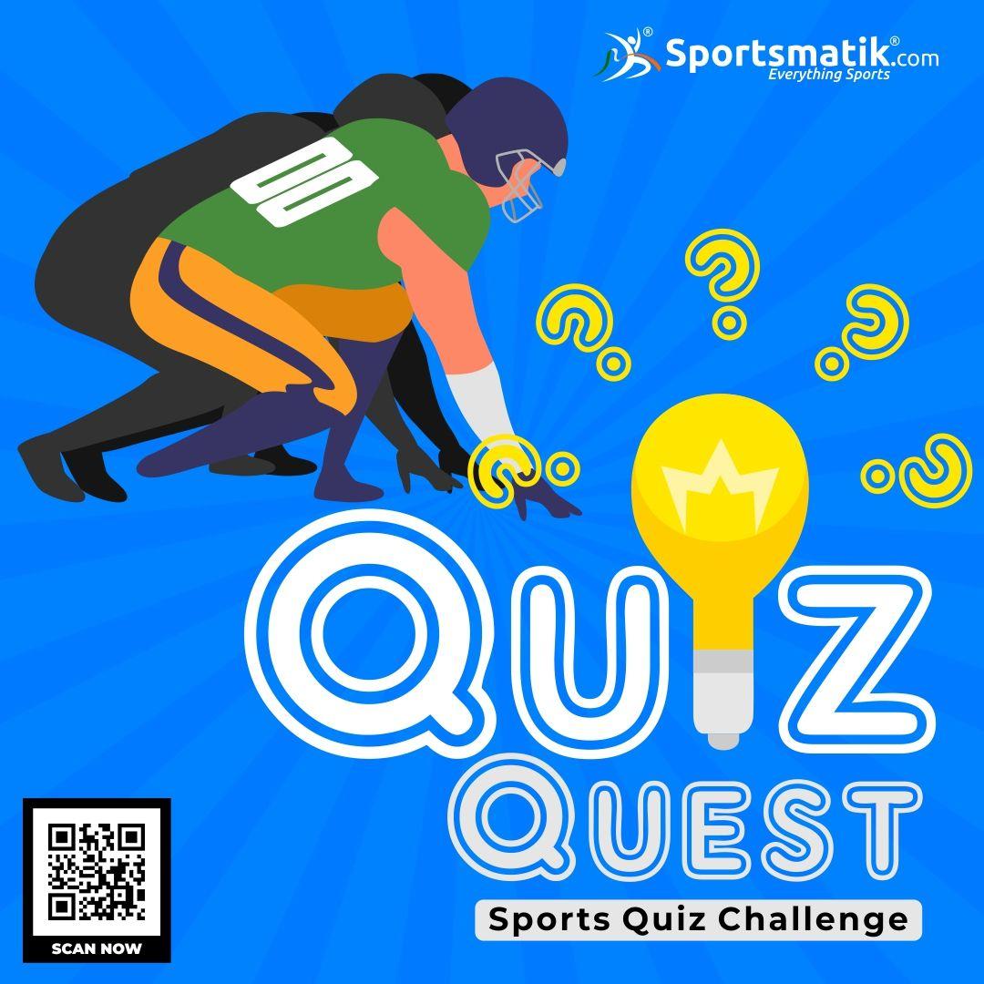Sports Quiz Challenge in 2020 Sports quiz, Quiz, Sports