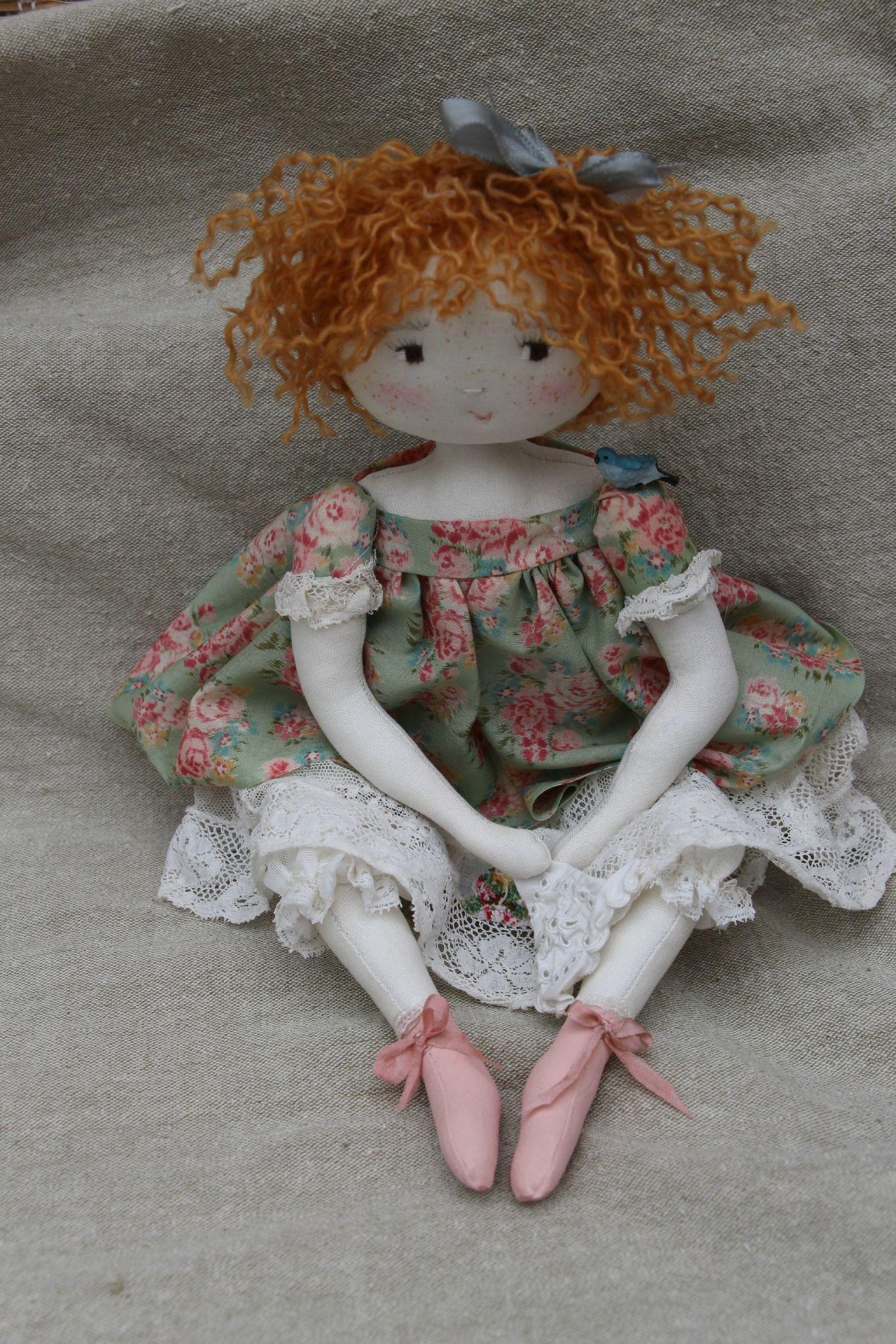 Paprika ...farfalette rigolotte et espiègle..(35cm) - Le Jardin des Farfalous ♡ lovely doll