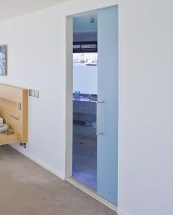 Cavity Sliders With Frameless Glass Doors Glass Pocket Doors Frameless Glass Doors Doors Interior