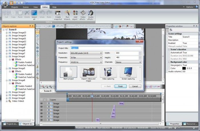 VSDC Free Video Editor Offline Installer Free Download