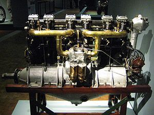 Mercedes D.II, the powerplant of the Junkers J 1 (first all metal aircraft) #flighttest