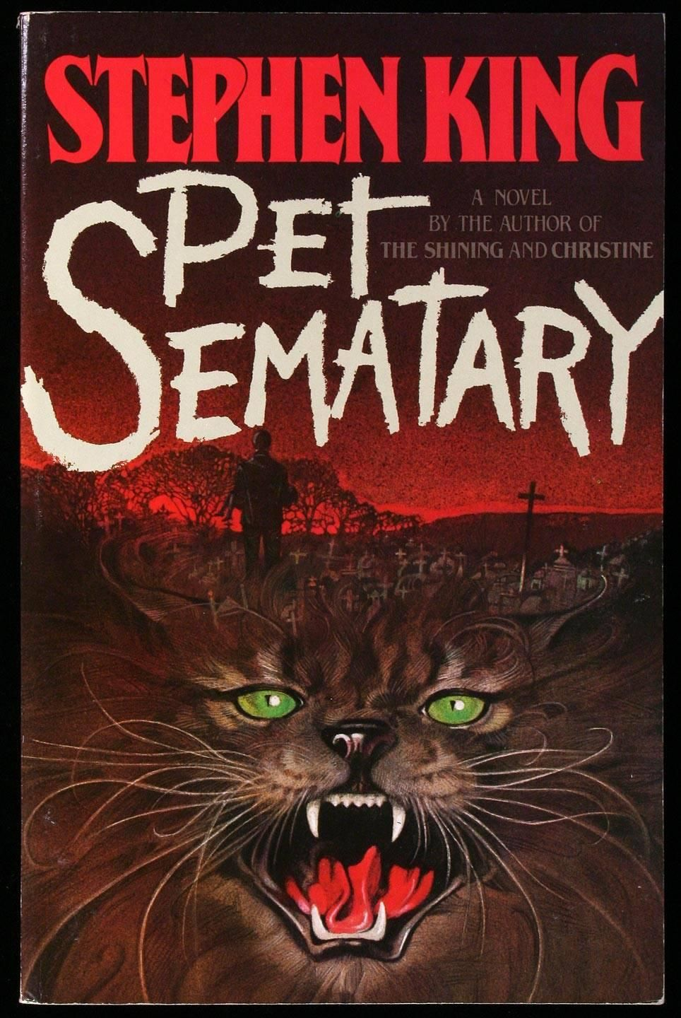 King Pet Sematary (With images) Pet sematary, Stephen