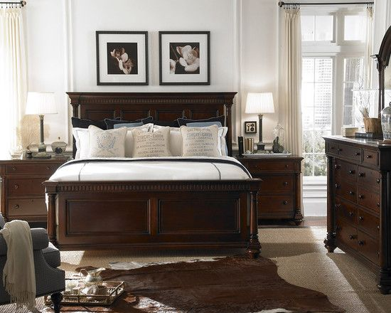 Bedroom Dark Brown Furniture Design, Pictures, Remodel, Decor and ...