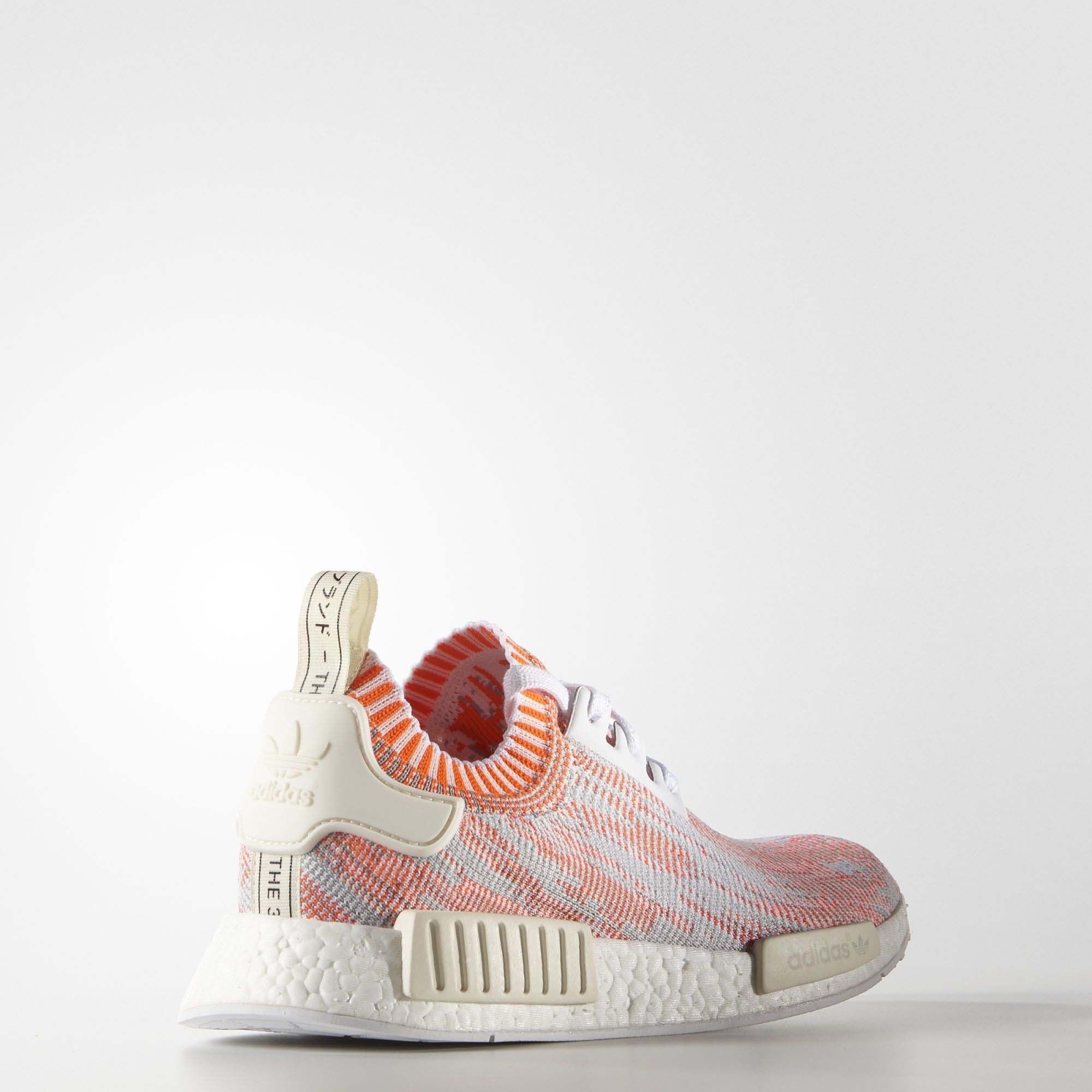 d5a3fcd1c2850 Adidas NMD R1 Primeknit Red Camo - Womens WhiteSolar RedOff White3 dokuz limited  offer