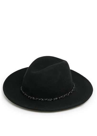 Fedora-Hut Aus Wolle found at Styletorch #styletorch