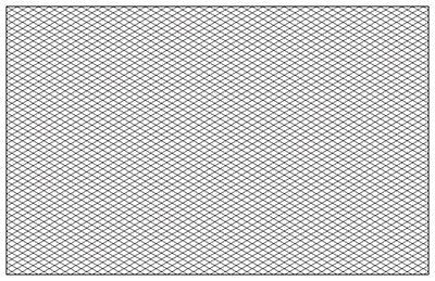 Isometric Graph Paper X  Isometric    Graph Paper
