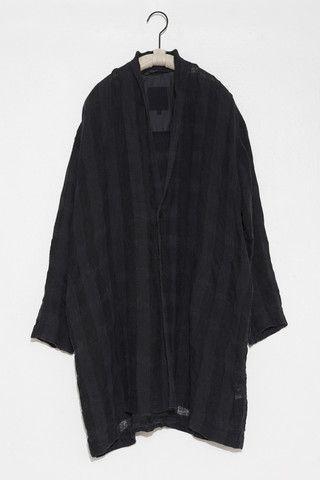 Linen coat by Pas de Calais