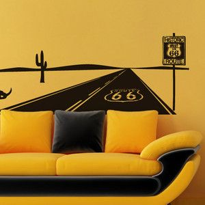 Route 66 Themed Home Decor Accessories Carol Burkes Love The Wall Art