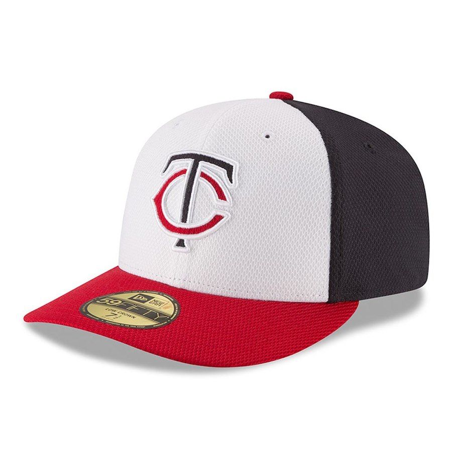 buy popular 21760 ec1f0 Men s Minnesota Twins New Era White Red Road Diamond Era Low Profile  59FIFTY Fitted Hat, Your Price   34.99
