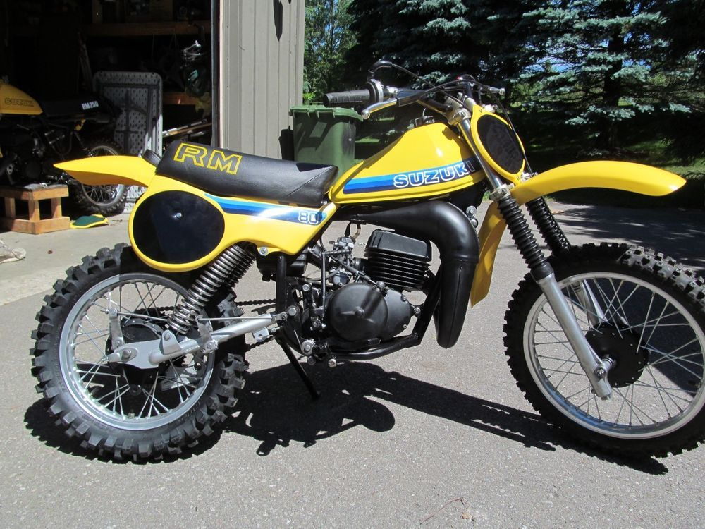 Suzuki Motorcycles For Sale >> Ebay 1981 Suzuki Rm Restored Vintage 1981 Suzuki Rm 80