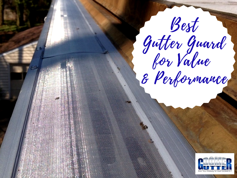 Award Winning Gutter Protection From Gutterdome Eliminates Gutter Cleaning For All Time Cleaning Gutters Gutter Protection How To Install Gutters