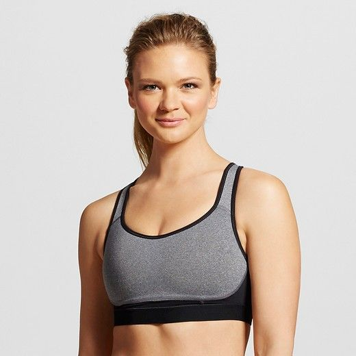 bcf925f5cd6b7 The C9 Champion® Power Core® Max Sports Bra supports all sizes through all  levels of activity. This high support bra features a compressive fit