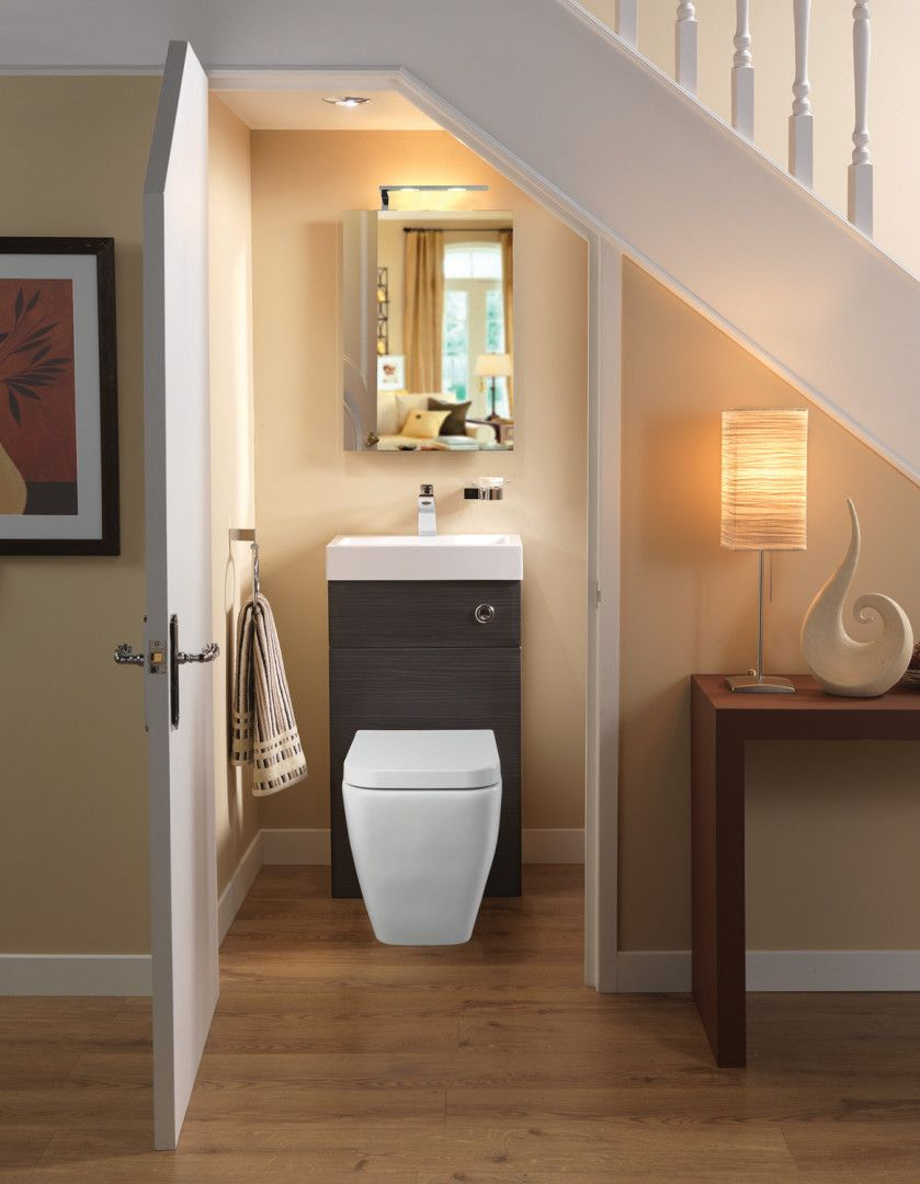 Best Combi Unit Under Stairs Cloakroom Toilet And Sink Combo 400 x 300