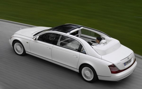 15 Maybach Landaulet: $1.4 million A car built around luxury and not