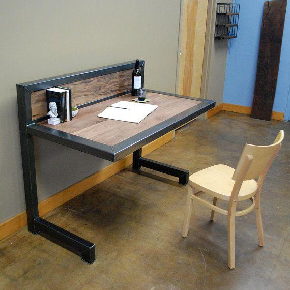 Kraftig escritorio por deliafurniture en etsy rom for Escritorio industrial vintage