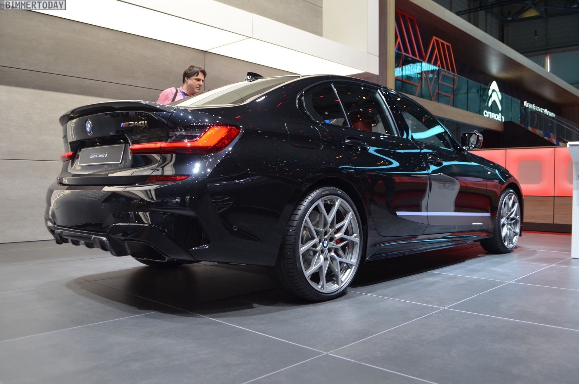Geneva 2019 Bmw M340i G20 With M Performance Parts Bmw