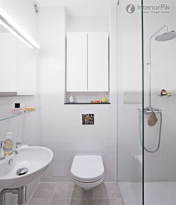 80 Flat Small Apartment Modern Minimalist Style Bathroom Decoration Picture Book 2012