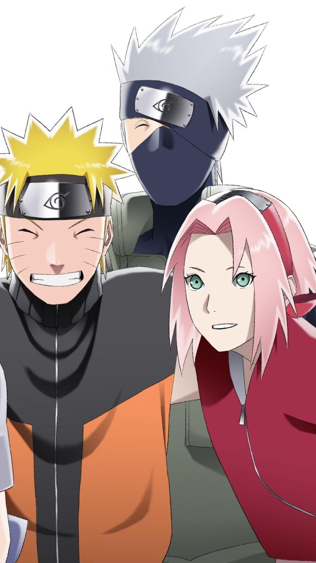 Wallpaper Phone Naruto Sakura And Kakashi Full Hd Com Imagens