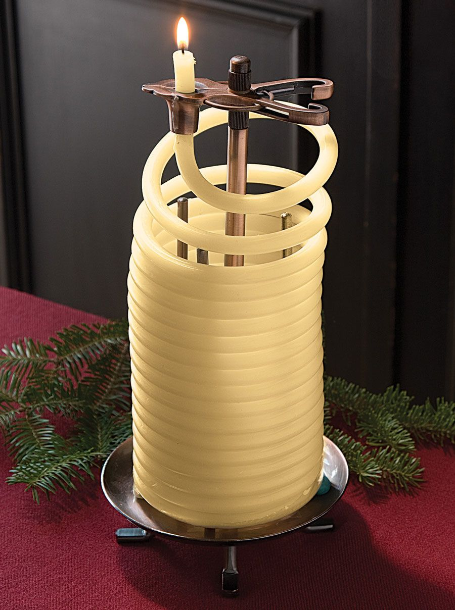 Beeswax Coil Candle and Refillsnull