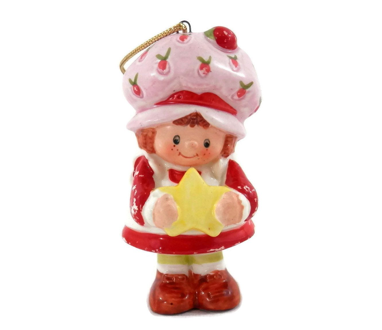 Strawberry christmas ornaments - Strawberry Shortcake Christmas Ornament Retro 80s Xmas Decor Strawberryshortcake
